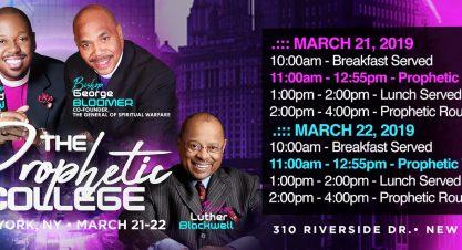 March 21-22 New York City