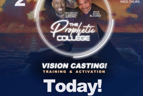 WATCH LIVE NOW! Day 2 of The Prophetic College Webinar March 26, 2020